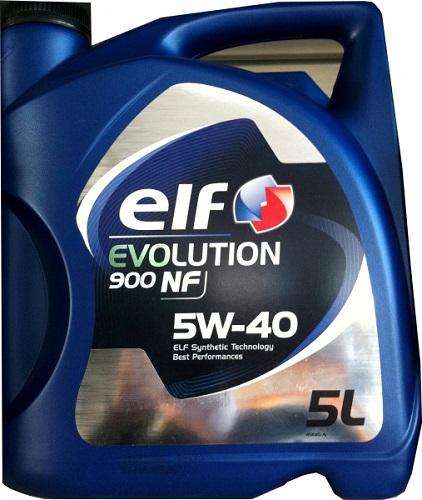 Моторное масло ELF Evolution 900 NF, 5W-40, 5л, 196147