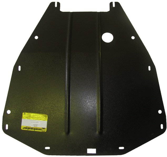 Защита картера двигателя, КПП Renault Espace IV 2002-2011 Renault Espace V 2011- V=2,2D (сталь 2 мм)
