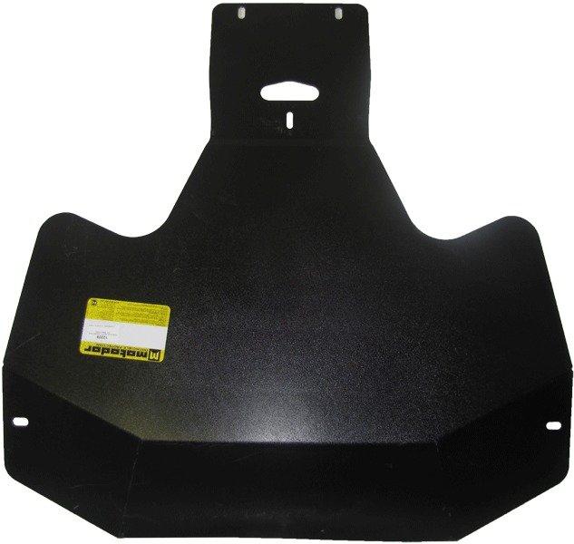 Защита картера двигателя, КПП Subaru Tribeca 2007- V=3,0 (сталь 3 мм), MOTODOR12209