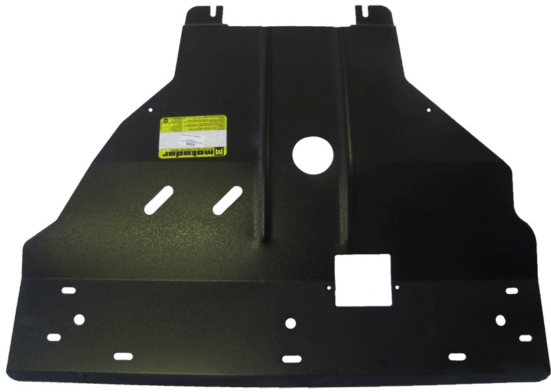 Защита картера двигателя, КПП Opel Vivaro 2006- V=2,0TD (сталь 2 мм), MOTODOR01529