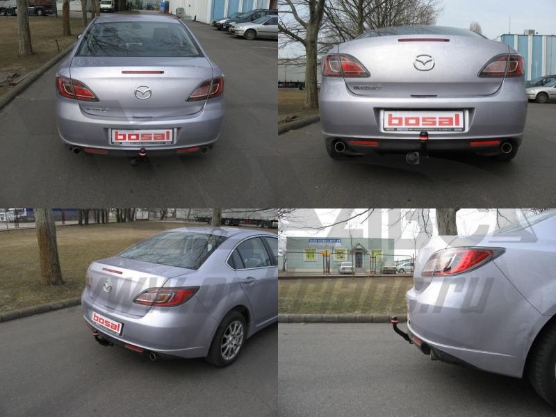 Фаркоп для Mazda (Мазда) 6 Хэтчбек, sedan (2008-2013) без электрики,, BOSAL, 4528A