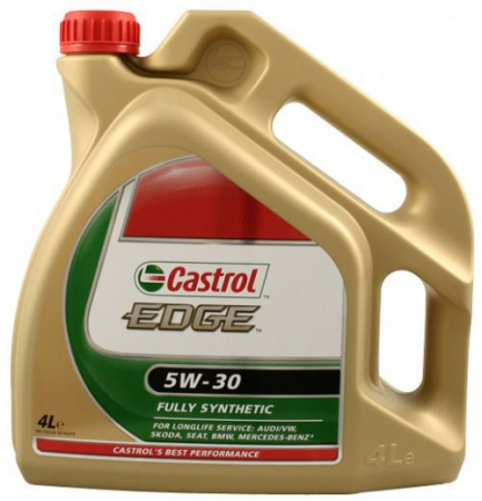 Масло CASTROL EDGE FST 5W-30 SYNTHETIC 4л. 4637400090