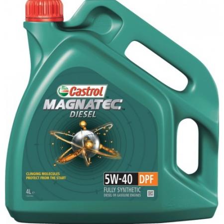 Масло CASTROL MAGNATEC DIESEL 5w40 DPF 4л. 4672810090