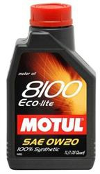 Моторное масло MOTUL 8100 Eco-clean, 0W-30, 1л, 102888