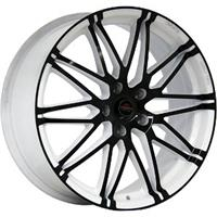 Колесный диск Yokatta MODEL-28 8x18/5x105 D56.6 ET42 белый +черный (W+B)