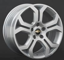 Колесный диск Ls Replica GM28 8x18/5x115 D57.1 ET45 серебристый (S)