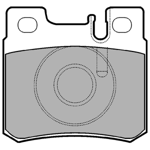 Колодки дисковые, DELPHI, LP946