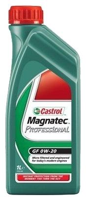 Моторное масло CASTROL Magnatec Professional GF, 0W-20, 1л, 15116A