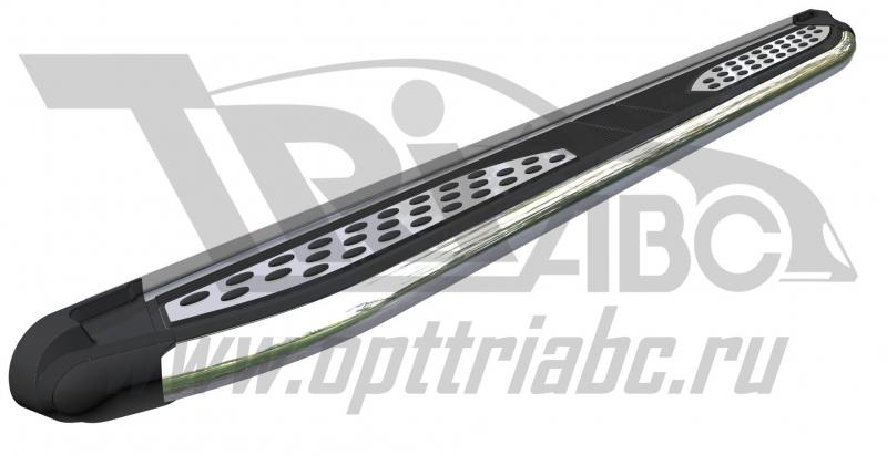 Пороги алюминиевые (Zirkon) Acura RDX (2014-), ACRD592505