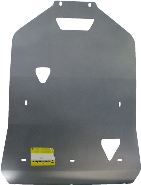 Защита картера двигателя, КПП Audi A8 (D4, 4H) 2010- V=3,0, 4,2 FSI (алюминий 5 мм), MOTODOR30106