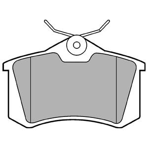 Колодки дисковые, DELPHI, LP565