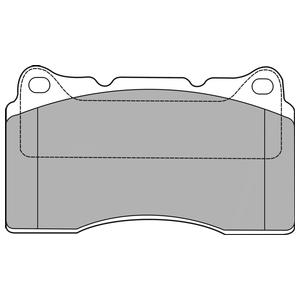 Колодки дисковые, DELPHI, LP1422
