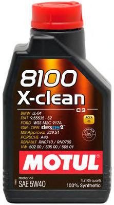 Моторное масло MOTUL, 5W-40, 20л, 103991