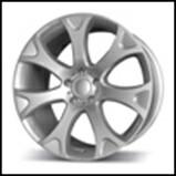 Колесный диск Fr replica 722 9.5x20/5x120 D74.1 ET35 серебро (S)