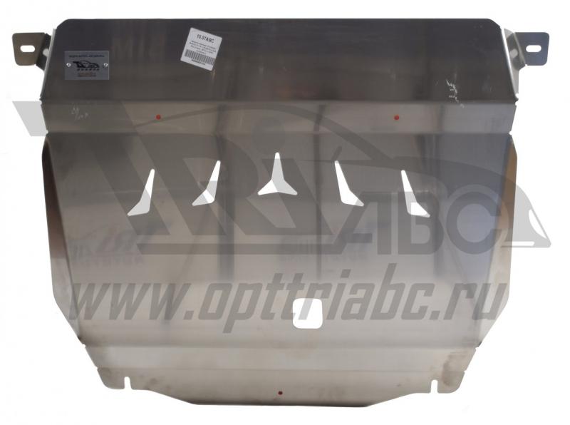 Защита картера двигателя и кпп Hyundai Solaris (Хёндай Соларис) V-1,4; 1,6 (2010-2014-) / Kia Rio (К