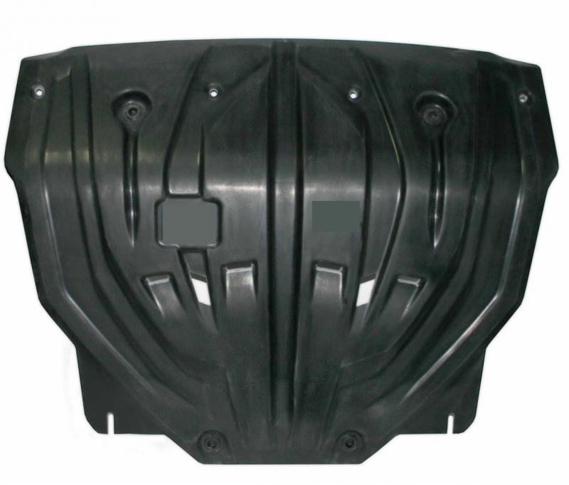 Защита картера двигателя и кпп Kia Sportage (Киа Спортаж) (V-все, 2010-02.2016) (Композит 8 мм), 112