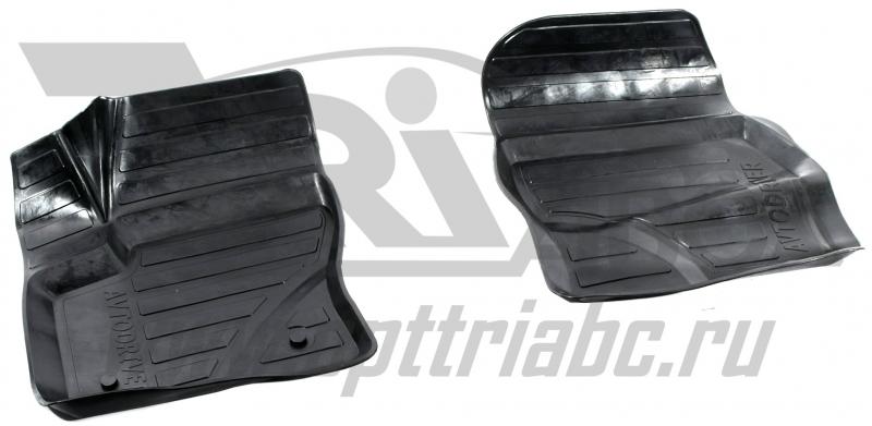 Коврики салона резиновые с бортиком для Ford Kuga II (2012-) (2 передних), ADRAVG1362
