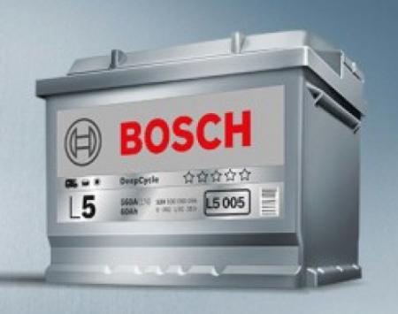 Аккумуляторная батарея Bosch, 12 В, 19 А/ч, 190 А, 018005190B