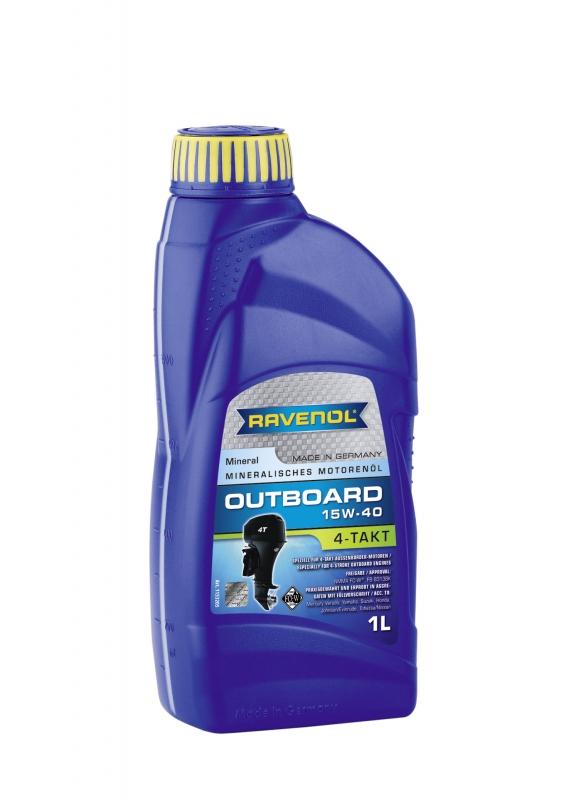 Моторное масло RAVENOL Outboardoel 4T, 15W-40, 1 л, 4014835729216