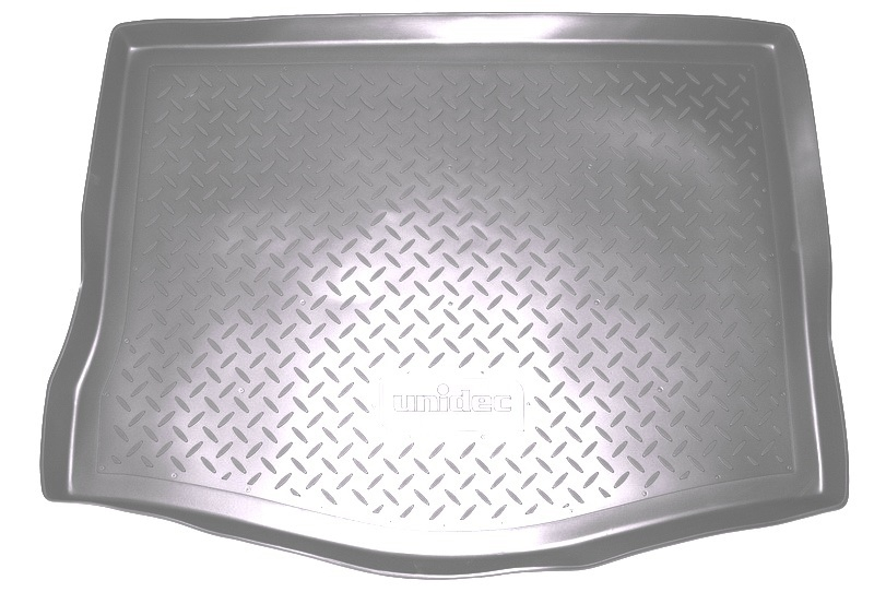 Коврик багажника для Citroen (Ситроен) C4 (N) Седан (2013-) Серый, NPA00T14130GREY