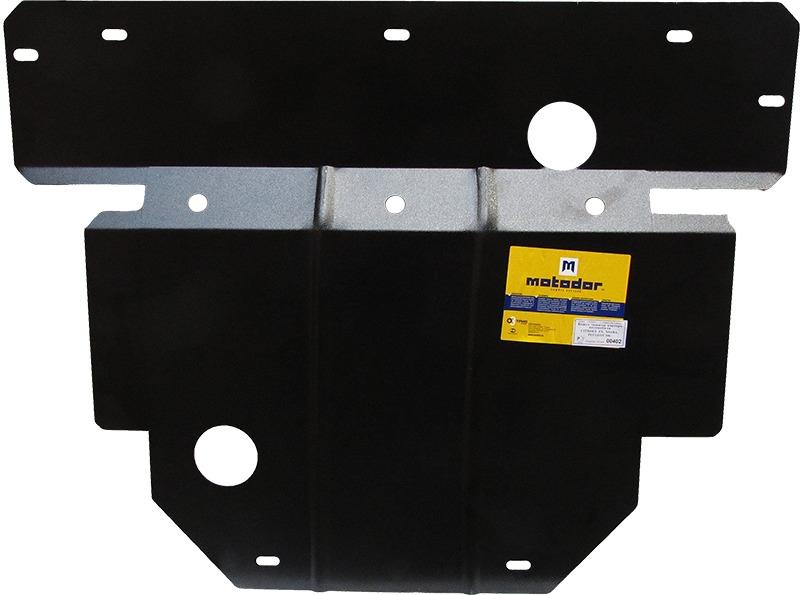 Защита картера двигателя, КПП Peugeot 306 (7B) 1994-2000 V= все (сталь 2 мм), MOTODOR00402