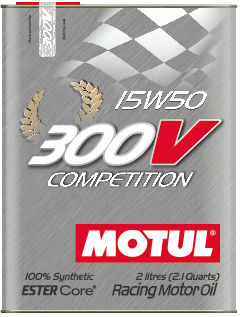 Моторное масло MOTUL 300V COMPETITION, 15W-50, 2л, 103138