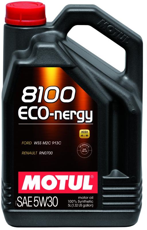 Моторное масло MOTUL 8100 ECO-NERGY, 5W-30, 5 л, 102898