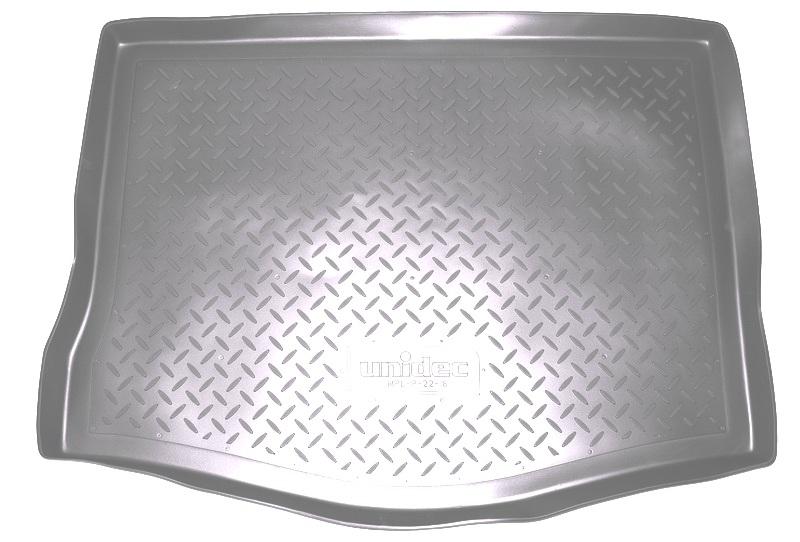 Коврик багажника для Ford Ranger Double Cab (2011-) (4 дв) (для авто без пласт. поддона) (серый), NP