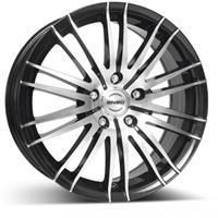 Колесный диск Enzo 106 dark 7x16/5x108 D60.1 ET40 черный полированный (BKF/P)