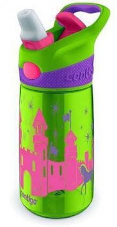 Детская бутылка для воды Contigo Striker, зеленая, 420 мл, 10000348