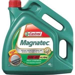 Моторное масло CASTROL Magnatec A3/B4, 5W-40, 4л, 4653270090