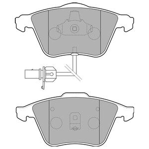 Колодки дисковые, DELPHI, LP1825