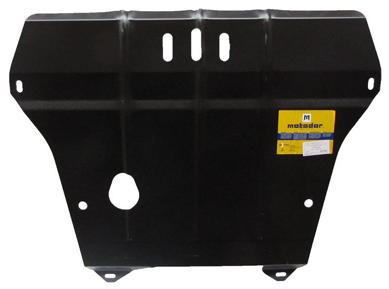 Защита картера двигателя, КПП VW Lupo 1999-2005 VW Polo 1999-2001 V=1,0 (сталь 2 мм), MOTODOR02706