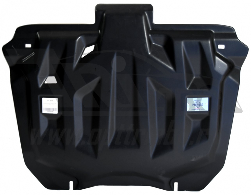 Защита картера двигателя и кпп Honda (Хонда) CR-V; V-2,0 (2012-2014-) (Композит 6 мм), 0921K