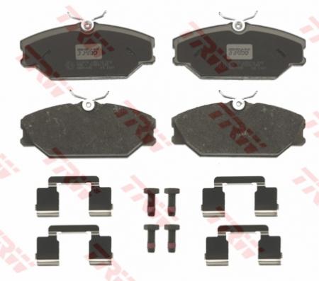 Колодки дисковые Передние, TRW, GDB1405