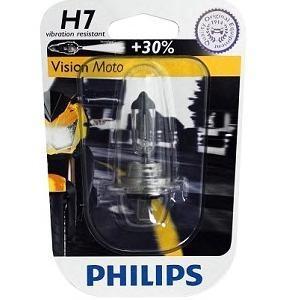 Лампа, 12 В, 55 Вт, H7, PX26d, PHILIPS, 12972PRBW