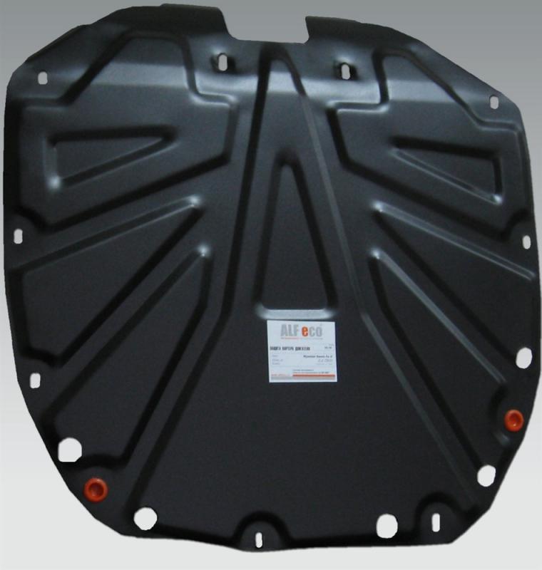 Защита картера двигателя и кпп Hyundai Santa Fe (Хёндай Санта Фе) (V-все, 2006-2012)+ КПП / IX 55 (V