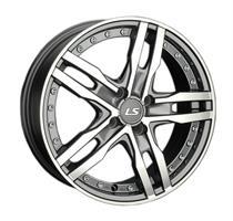 Колесный диск LS Wheels LS 356 7x17/5x115 D74.1 ET40 серый глянец, полированнные спицы и обод (GMF)