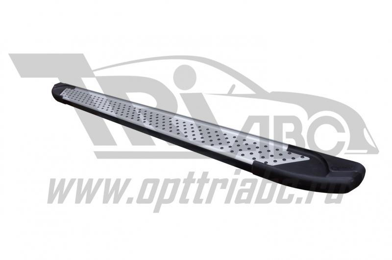 Пороги алюминиевые (Sapphire Silver) Peugeot Expert (2014-), PEEX512601