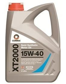 Моторное масло COMMA 15W40 XT2000, 4л, XT24L