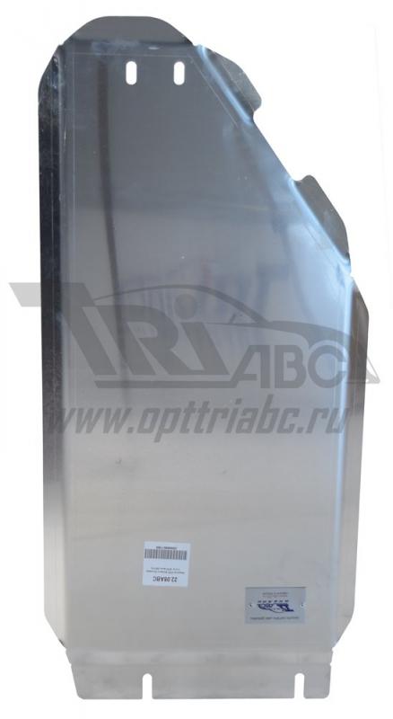 Защита КПП Subaru Forester V-2.0, КПП-все (2013-) (Алюминий 4 мм), 2208ABC