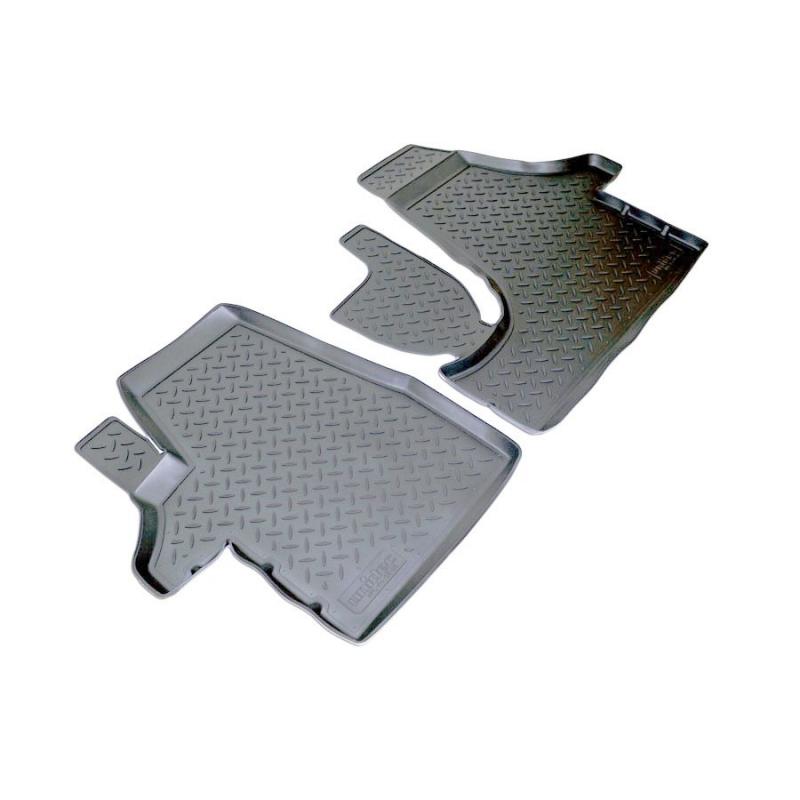Коврики салона для Volkswagen T5 (2003-) T6 (2015-) (2 передних коврика), NPLPO9585