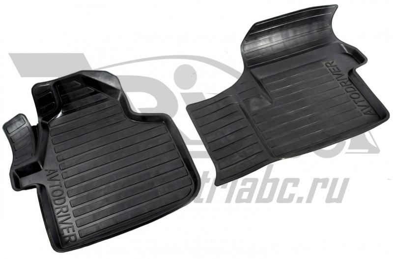 Коврики салона резиновые с бортиком для Mercedes-Benz Sprinter (2007-), ADRAVG166
