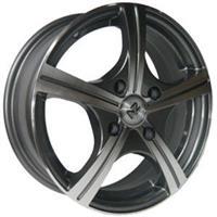 Колесный диск NZ SH631 6x15/5x100 D57.1 ET38 насыщенный темно-серый полностью полированный (GMF)