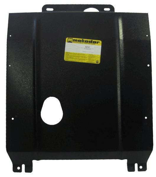 Защита картера двигателя, КПП VW Golf III 1991-1997 V=1,6 (сталь 2 мм), MOTODOR02727