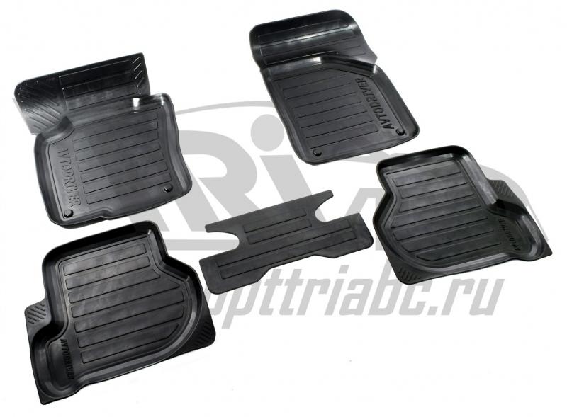 Коврики салона резиновые с бортиком для Volkswagen Jetta(2010-2015), ADRPRO227