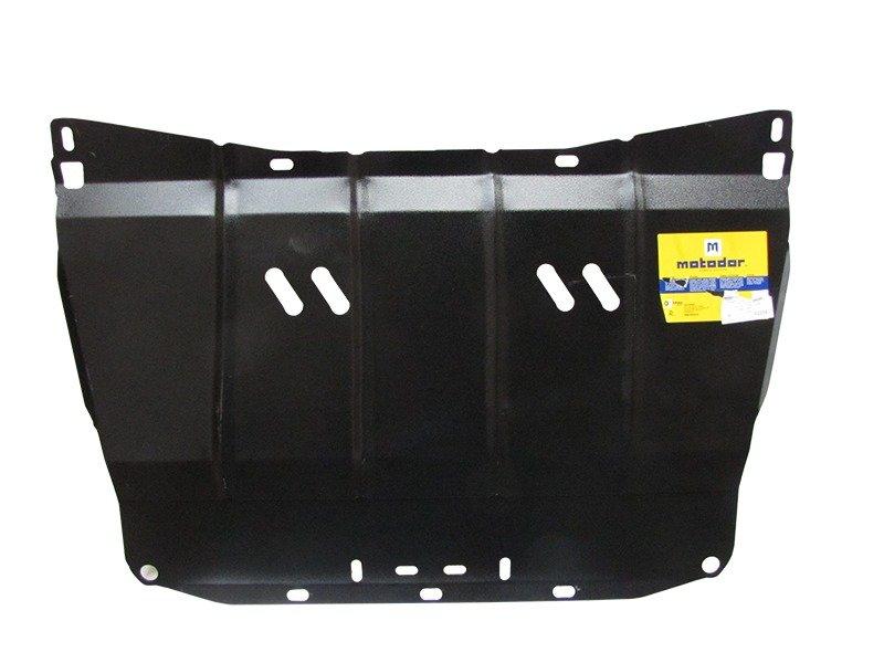 Защита картера двигателя, КПП Subaru Forester II 2002-2008 V= все (сталь 2 мм), MOTODOR02208