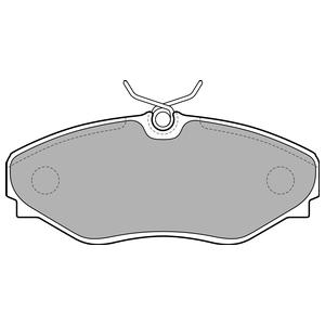 Колодки дисковые, DELPHI, LP1767