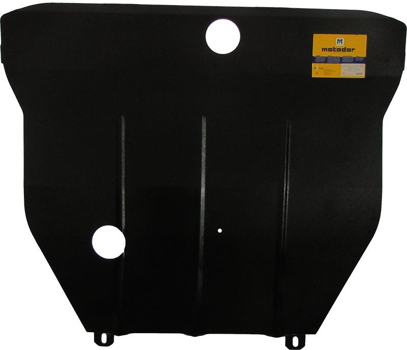 Защита картера двигателя, КПП Daewoo Leganza (KLAV) 1997-2008 V= все (сталь 2 мм), MOTODOR00502