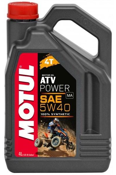 Моторное масло MOTUL ATV Power 4T, 5W-40, 1л, 105897
